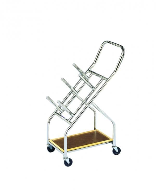 Iron Disc Weight Plates Mobile Cart
