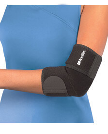 Mueller Sports Medicine Elbow Support, Black, OSFM