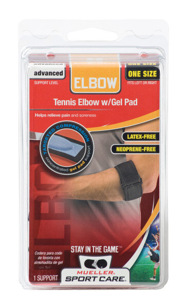 Mueller Sports Medicine Tennis Elbow Support With Gel Pad