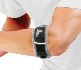 A tennis elbow brace from Mueller Sports Medicine