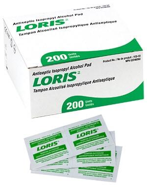 Lernapharm Antiseptic Isopropyl Alcohol Pads