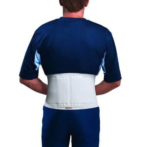 Mueller Sports Medicine Back Brace, White