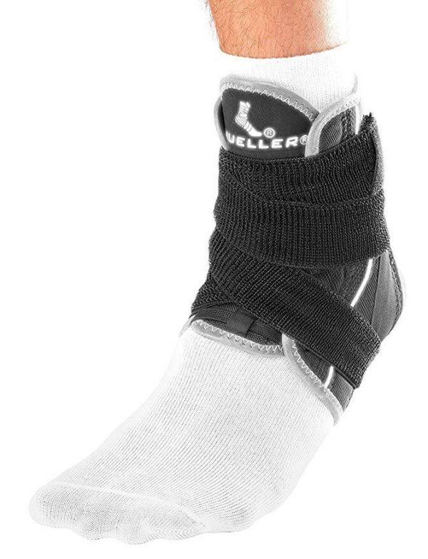 Mueller Sports Medicine Soft Ankle Brace With Straps