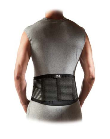 McDavid Back Stabilizer. This brace includes 6 steel stays for additional lumbar support.
