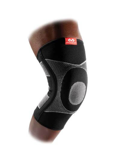 McDavid Knee Sleeve / 4-Way Elastic With Gel Buttresses & Stays