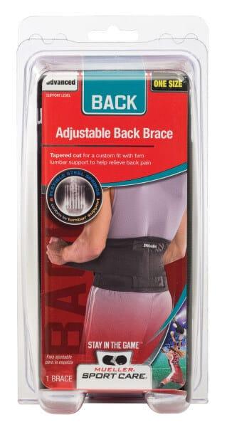 Mueller Sports Medicine Adjustable Back Brace