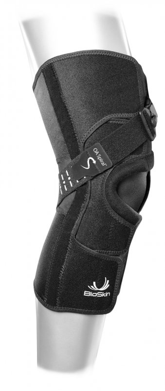 """BioSkin OA Spiral can be used to reduce OA pain and provides an answer to the question """"how does a knee brace help with knee pain"""""""