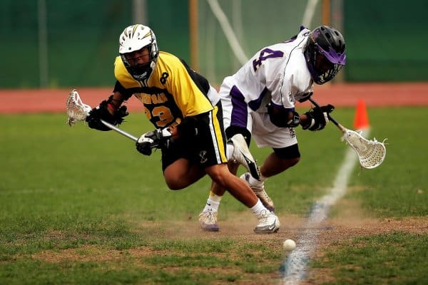 Lacrosse players, who are subject to many of the sports injuries we address on remaininthegame.ca