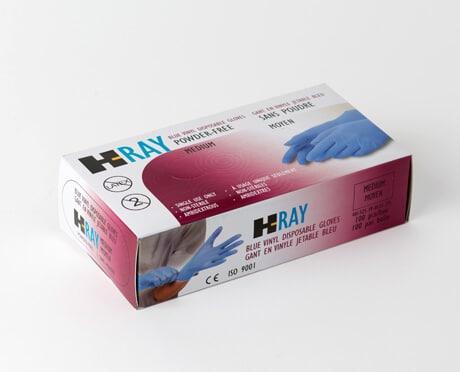 Wayne Safety HRay Vinyl Medical Examination Gloves