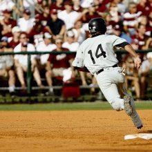 Baseball Batter Running