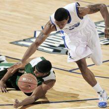 Basketball Player Running & Dribbling