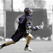 Lacroose players perform extensive running, twisting and turning during the game. This can result in overuse injuries that some lacrosse players may prefer to treat using kinesiology tape.