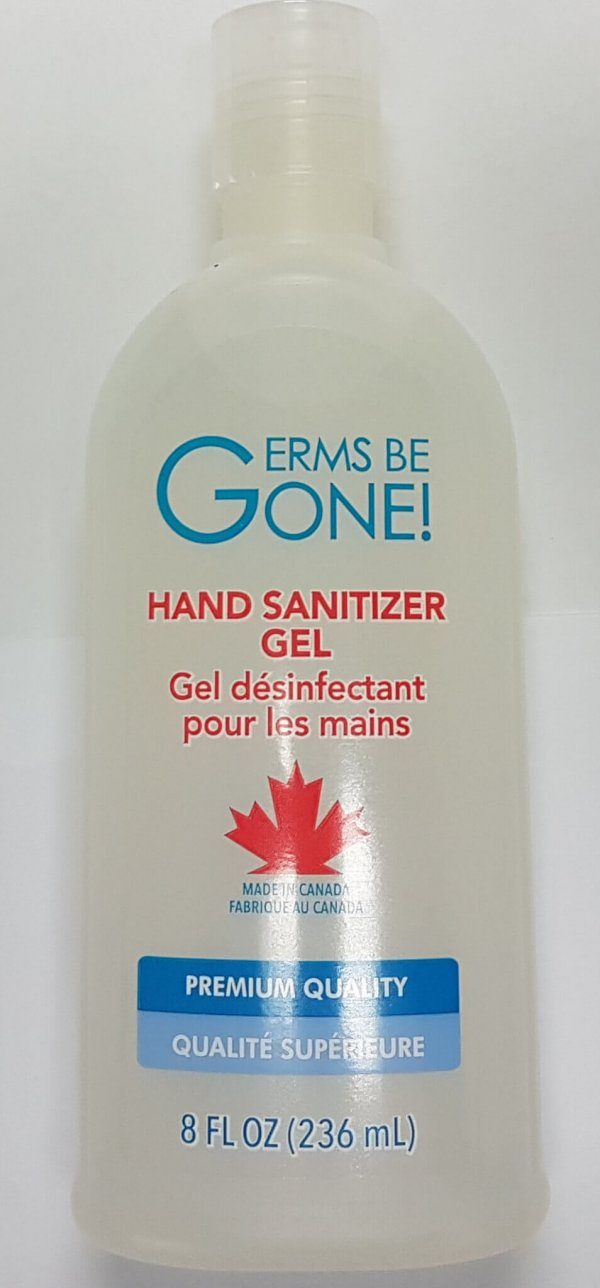 Germs Be Gone! Hand Sanitizer Gel
