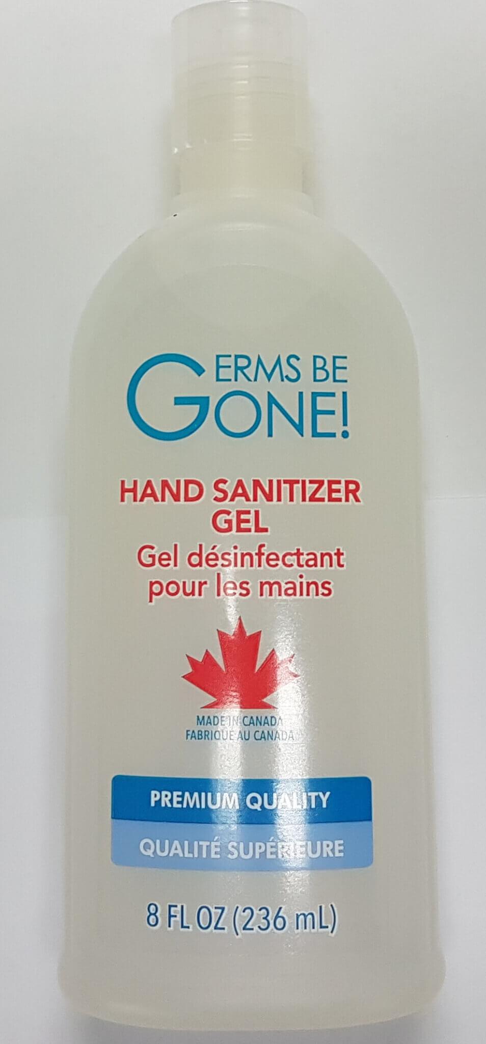 Germs Be Gone! Hand Sanitizer Gel