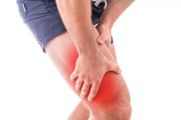 Man with quadriceps pain possibly due to a strain