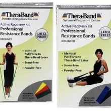 theraband active recovery workout kit